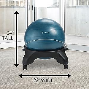balance ball chair;ball chair;ba;ance ball;yoga ball;stability ball;desk chair;office chair