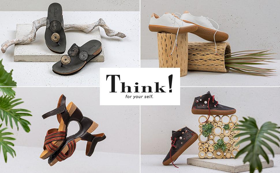 Think! Zapatos para mujer.