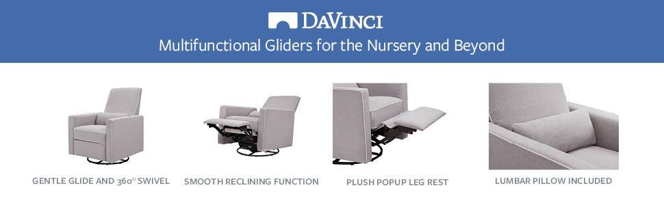 Amazon Com Davinci Piper All Purpose Upholstered Recliner