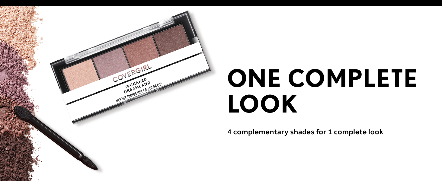 Covergirl Eyeshadow quads Content