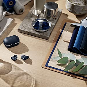 Bang & Olufsen Beoplay E8 2.0 Truly Wireless Bluetooth Earbuds and Charging Case - Indigo Blue