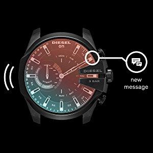 126e8763741 Amazon.com  Diesel Smart Watch (Model  DZT1010  Watches