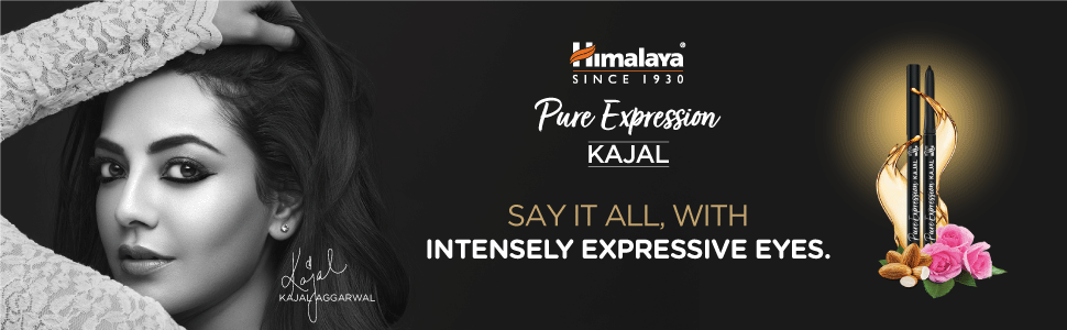 sat it all with intensely expressive eyes kajal