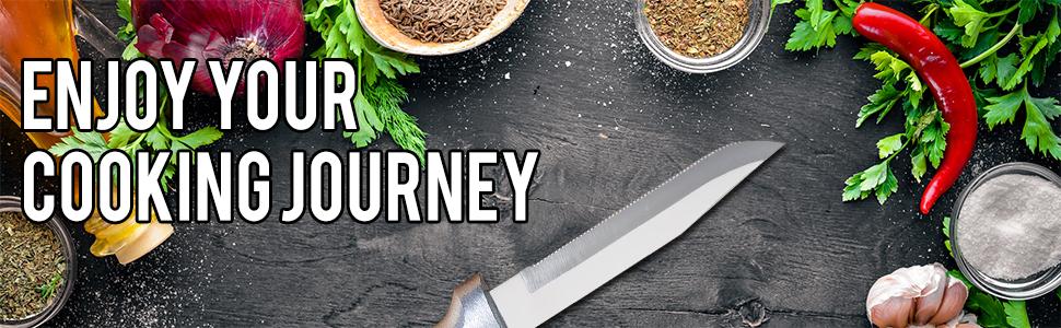 Rada Cutlery Regular Serrated Paring Knife