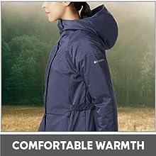 Comfortable warmth