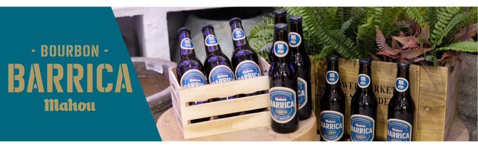 Mahou Barrica Cerveza Envejecida Edición Especial Bourbon 6.9 ...