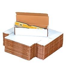 Corrugated mailers ship flat