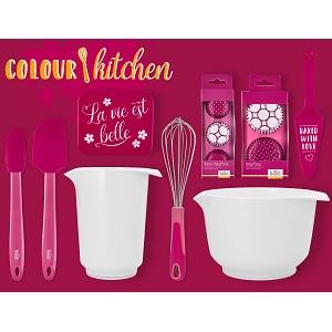 Colour Kitchen Lot de boîtes de couleurs Rose
