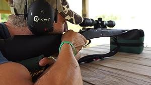 deadshot shooting bag, caldwell, caldwell shooting supplies, midway USA, shooting rest,shooting bags