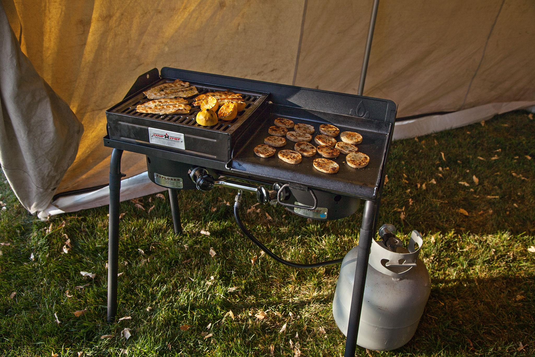 Amazon Com Camp Chef Bb100l Barbecue Box With Lid Fits