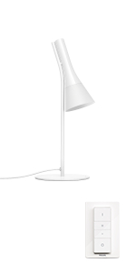 Philips Hue White Ambiance Explore table lamp with dimmer