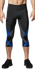 men's stabilyx 3/4, running tights