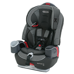 Graco Nautilus 65 LX 3 in 1 Harness Booster Car Seat, Conley