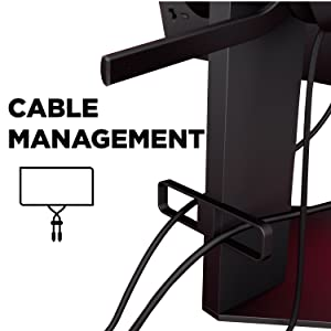 OMEN X 25 Display cable management