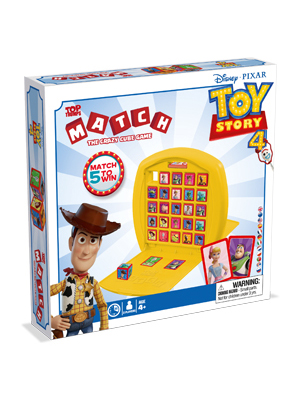 Top Trumps Match Toy Story 4 Juego de Mesa, color multiple, talla única (Winning Moves 033428): Amazon.es: Juguetes y juegos