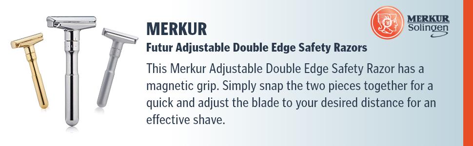 Merkur Futur adjustable Double Edge Safety Razors