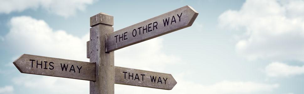 Der richtige Weg