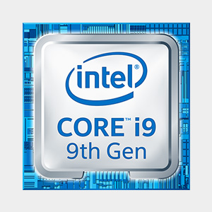 Intel i9 9th gen
