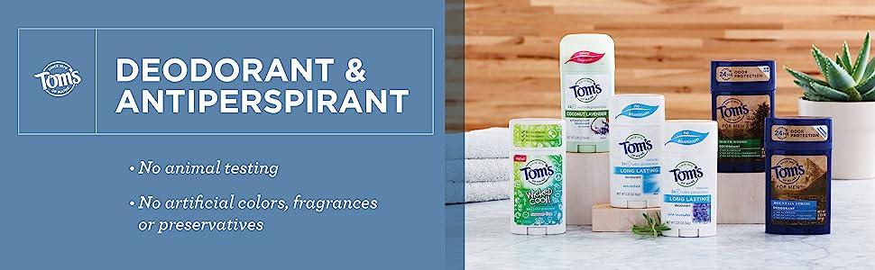 Deodorant & Antiperspirant