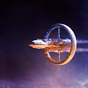 ashen stars, alcubierre drive, spaceship, starship, battleship