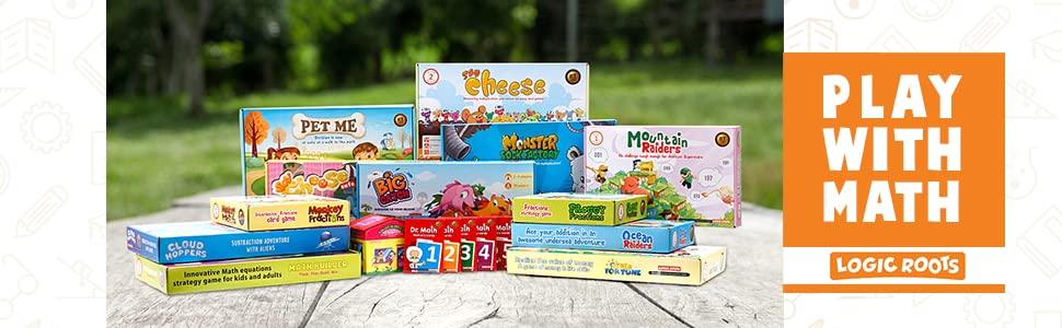 logic roots math games family time add subtract