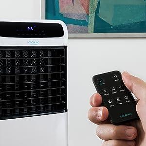 Cecotec Climatizador Evaporativo ForceSilence PureTech 6500. Doble ...
