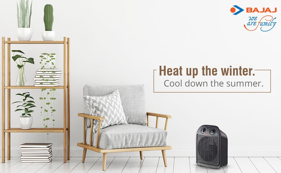 BAJAJ Majesty RFX2 Blower/Fan Heater