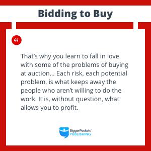 buying auction property risk profit work