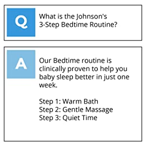 what is the 3 step bedtime routine?