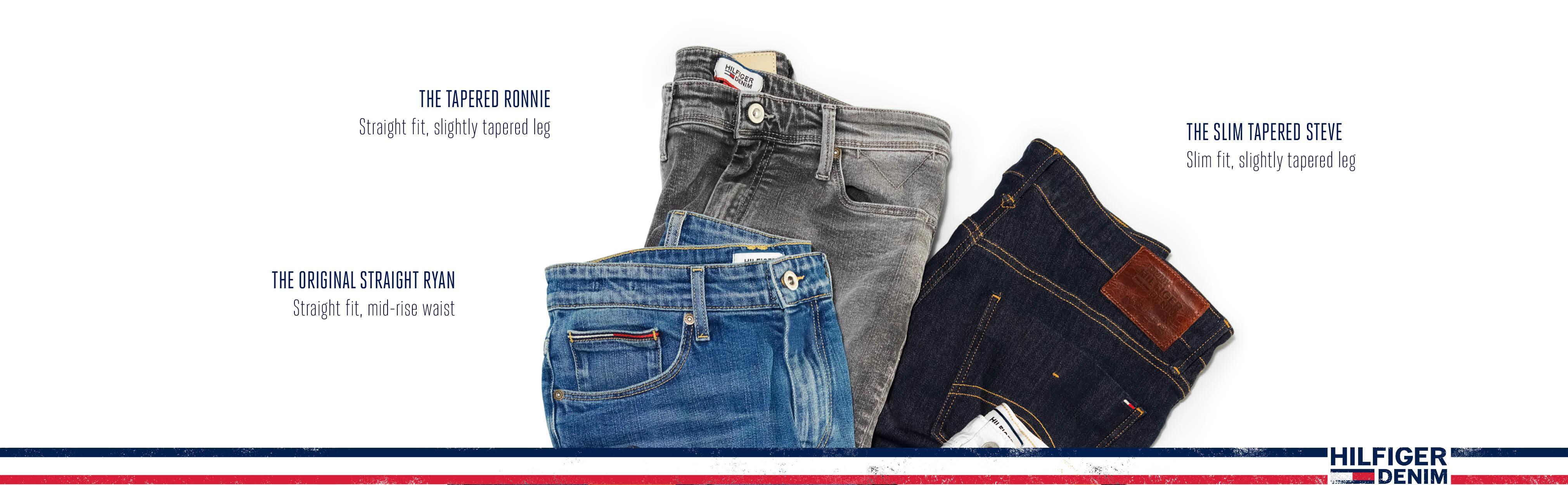 Tommy Hilfiger Denim Mens Jeans Original Skinny Sidney Jean