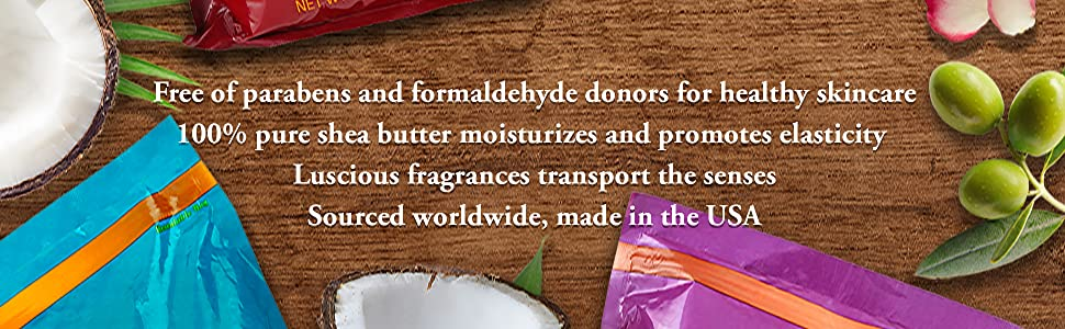 Free of parabens and formaldehyde donors