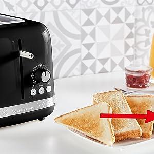 Grille-pain 2 fentes à largeur variable
