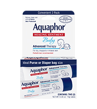 Aquaphor healing ointment, on the go tubes, diaper bag