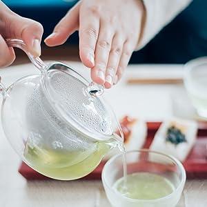 CHJMN-45 4977642093119 茶々急須 丸 急須 耐熱ガラス 耐熱 ガラス キレイ カワイイ 使いやすい 日本茶 日本 Japan Ocha 美味しい 美しい