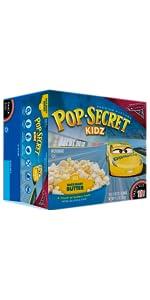 pop secret, kids popcorn, butter popcorn, kettle corn