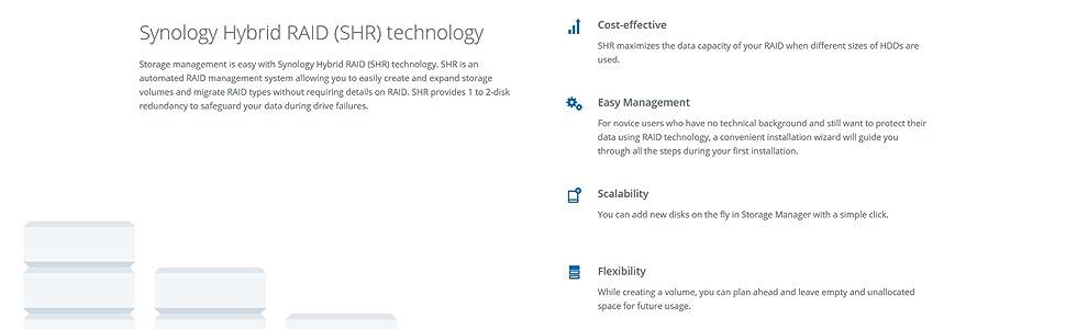 Synology DS416slim 4 Bay Desktop NAS Enclosure