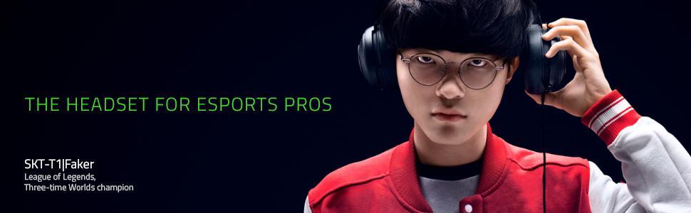 Razer Kraken Pro V2 Wired On Ear Analog Jack Port Gaming