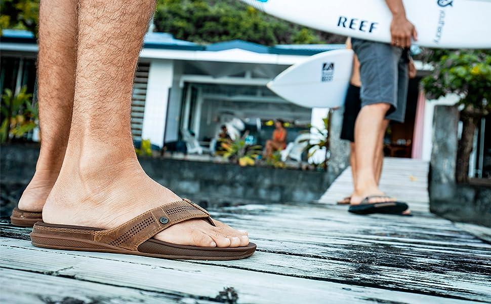 Man in Sandals