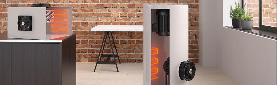 AC Axial Muffin Cooling Fans