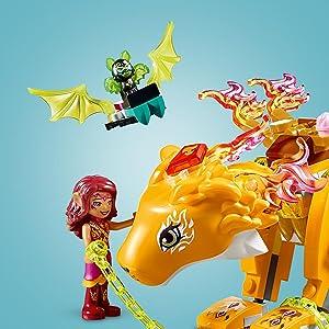 Amazon Com Lego Elves Azari Amp The Fire Lion Capture 41192