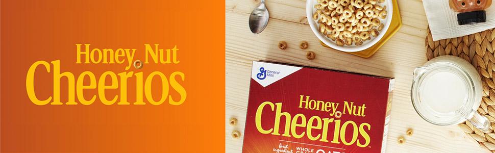 Honey Nut Cheerios banner image