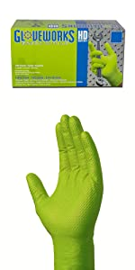 green nitrile