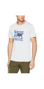 Poli/éster Nostromo Ridge SS Tee 1844261 Columbia Hombre Camiseta