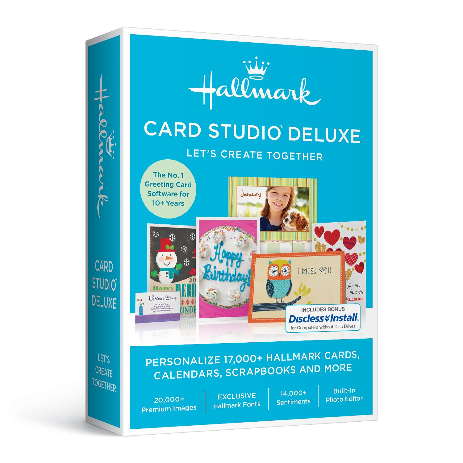 Amazon hallmark card studio deluxe 2017 from the manufacturer kristyandbryce Choice Image