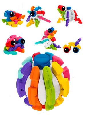 Chicco-00009374000000 Pelota transformable, Multicolor ...