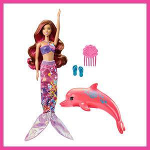 Barbie - Sirena Mágica en Barbie Aventura de los Delfines (Mattel FBD64)