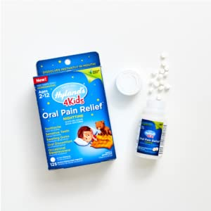 kids nighttime oral pain relief