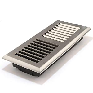 Accord Apfrsnl410 Plastic Floor Register With Louvered