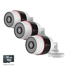 outdoor wifi camera, wireless surveillance camera, all in one security camera, wifi surveillance
