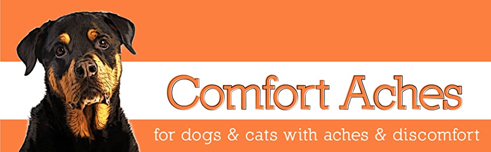 Herbal Pain Relief for Dogs + Cats, For Pet Aches and Pains, Anti-Inflammatory Supplement